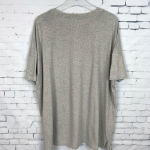 """All Saints Tops - All Saints """"Watch the Skies"""" oversized T-shirt"""